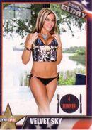 2013 TNA Impact Glory Wrestling Cards (Tristar) Velvet Sky 28