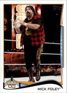 2014 WWE (Topps) Mick Foley 106