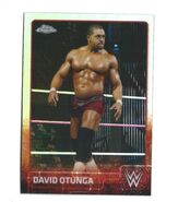 2015 Chrome WWE Wrestling Cards (Topps) David Otunga 21
