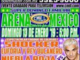 CMLL Domingos Arena Mexico (January 13, 2019)