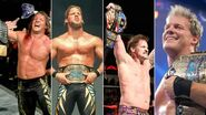Grand Slam winners Chris Jericho