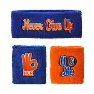 John Cena Respect. Earn It. Sweatband Set