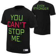John Cena You Can't Stop Me T-Shirt