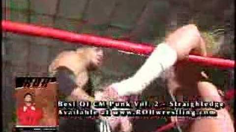"""ROH GOLD """"Vaulted Classics"""" CM Punk vs.Homicide 9 14 04 pt1"""