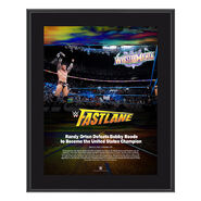 Randy Orton FastLane 2018 10 x 13 Photo Plaque