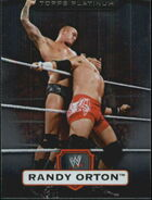 2010 WWE Platinum Trading Cards Randy Orton 97