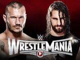 WrestleMania 31 Randy Orton v Seth Rollins