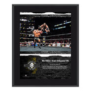 War Raiders NXT TakeOver Brooklyn 2018 10 x 13 Commemorative Plaque