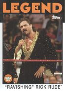 2016 WWE Heritage Wrestling Cards (Topps) Rick Rude 94