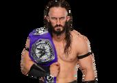 Neville WWE Cruiserweight Champion 2017