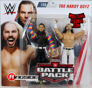 WWE Battle Packs 59 Matt Hardy & Jeff Hardy