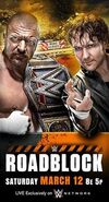 WWE Roadblock Poster