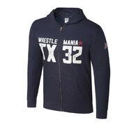 WrestleMania 32 Full-Zip Youth Hoodie Sweatshirt