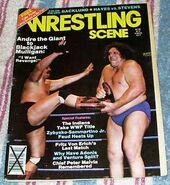 Wrestling scene oct 1982 andre
