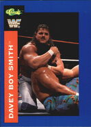 1991 WWF Classic Superstars Cards Davey Boy Smith 33