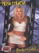 2002 WWE Absolute Divas (Fleer) Trish Stratus 91