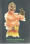 2008 WWE Heritage III Chrome (Topps) (Allen & Ginter) Rey Mysterio 3