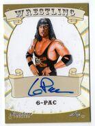 2016 Leaf Signature Series Wrestling 6-Pac 1