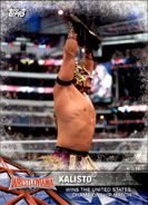 2017 WWE Road to WrestleMania Trading Cards (Topps) Kalisto 52