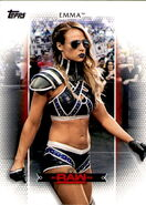 2017 WWE Women's Division (Topps) Emma 18