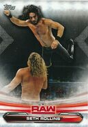 2019 WWE Raw Wrestling Cards (Topps) Seth Rollins 68