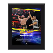 Big Show FastLane 2017 10 X 13 Commemorative Photo Plaque