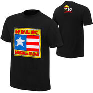 Hulk Hogan Flag 30th T-Shirt