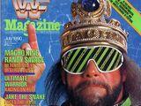 WWF Magazine - July 1990