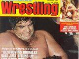 Sports Review Wrestling - December 1981