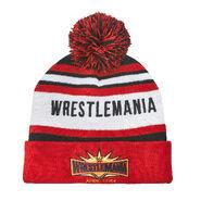 WrestleMania 35 Pom Pom Beanie Hat