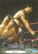 2003 WWE WrestleMania XIX (Fleer) Batista 5