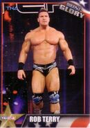 2013 TNA Impact Glory Wrestling Cards (Tristar) Rob Terry 43