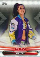 2019 WWE Raw Wrestling Cards (Topps) Bayley 7