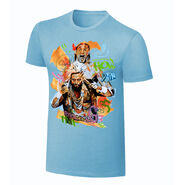Enzo & Big Cass Rob Schamberger Art Print T-Shirt