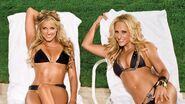 Kelly Kelly and Michelle McCool