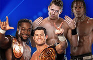 Match WWE Tag Team Champions Air Boom vs. The Awesome Truth (Tag Team Title Match)