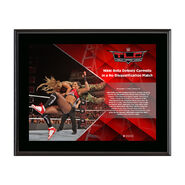 Nikki Bella TLC 2016 10 x 13 Commemorative Photo Plaque