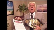 Ric Flair debut's WWE Undisputed Championship