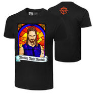 Seth Rollins Monday Night Messiah Authentic T-Shirt