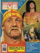 Wrestling Eye - December 1990