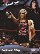 2009 TNA Knockouts (Tristar) Velvet Sky 46