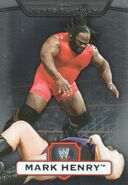 2010 WWE Platinum Trading Cards Mark Henry 29