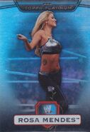 2010 WWE Platinum Trading Cards Rosa Mendes 16