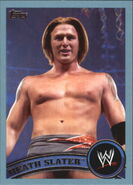 2011 WWE (Topps) Heath Slater 52