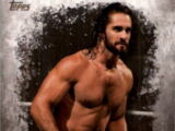 2016 Topps WWE Undisputed Wrestling Cards Seth Rollins (No.32)