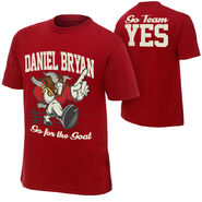 Daniel Bryan Team Goat Youth T-Shirt