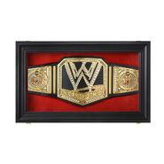 Replica WWE Championship Display