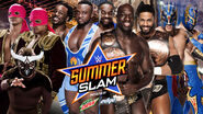 SS 15 Prime Time Players v The New Day v Lucha Dragons v Los Matadores