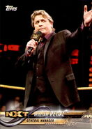 2018 WWE Wrestling Cards (Topps) William Regal 97
