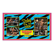 Dolph Ziggler Signed World Heavyweight Championship Commemorative Plaque